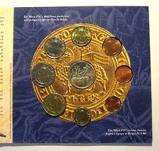 BELGIUM - OFFICIAL EURO COINS MINT SET (2002) BU - Battle of the Golden Spurs