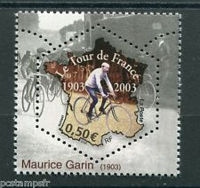 FRANCE - 2003 - M. Garin, 3582 - Sport, cyclisme neuf**, VF MNH STAMP, CYCLING