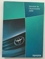 2000 Toyota Celica Yaris Avensis Original Media Brochure Press Kit - CD-Rom 2001