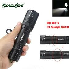 4000LM Zoomable CREE XM-L T6 LED High Power Flashlight Torch Lamp 5 Modes UK