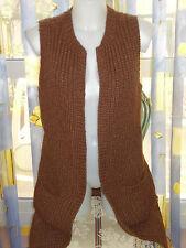 RALPH LAUREN Cardigan  senza maniche Donna Hand Knit, 30% KASHMIR,30%CASHMERE