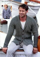 HAMILTON ARAN BESPOKE TRADITIONAL MANS JUMPERs AND CARDIGANS HAND KNITTED