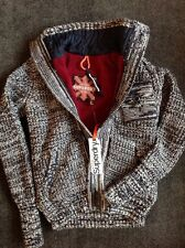 Superdry Polar Fleece Jacket Chunky Cardigan Size LARGE BRAND NEW WITH TAGS
