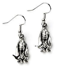 Hound Dog Earrings - Accessories - Women's Jewelry - Handmade - Gift Box
