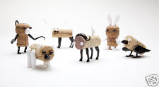 Corkers Animal Pack 6 Fun DIY Wine Bottle Cork Puzzle Gift Monkey Business