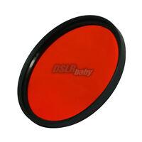49mm Red Color Conversion Lens Filter Screw Mount for DSLR Digital Camera M49 mm