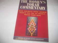 The Women's Torah Commentary: New Insights from Women Rabbis on the 54 Weekly To