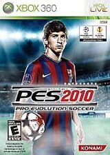 Pro Evolution Soccer 2010 10 COMPLETE (Xbox 360) **FREE SHIPPING!!
