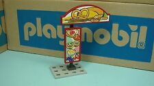 Playmobil City Life Bakery series Post Base Sign board Clip diorama toy 101