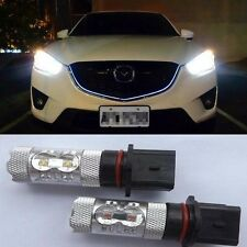 2x HID White P13W 50W High Power CREE LED Daytime Running Light for Mazda CX-5
