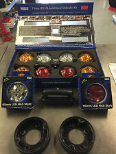 LAND ROVER DEFENDER LED WIPAC DELUXE COLOUR UPGRADE LAMP LIGHT KIT DA1292