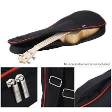 "24"" UKE Soft Case Ukulele gig bag for Soprano Concert uku Black NEW R2Z0"