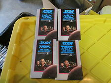Star Trek The Next Generation Collectors Edition VHS Tapes