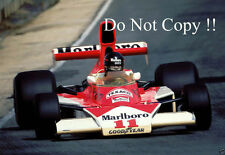 James Hunt McLaren M23 F1 Season 1976 Photograph 1