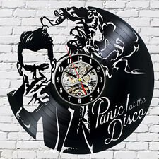 Panic! at the Disco_Exclusive wall clock made of vinyl record_GIFT