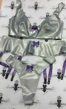 "X130 Westward Bound Latex Rubber Pin Up 3 PIECE FUSION SET *Shown* 38""/L/16"