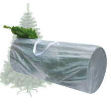 Large Artificial Christmas Tree Heavy Duty Storage Bag Clean Up Holiday White