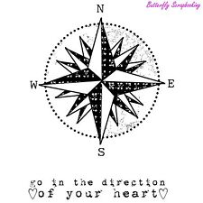 Direction, Cling Style Unmounted Rubber Stamp UNITY STAMP, INC. - NEW, IB-262