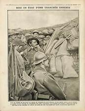 Bataille de l'Artois Poilus Soldats Tranchées Souchez Pas-de-Calais War 1915 WWI