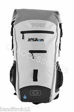 White Oxford Motorcycle Aqua B25 All Weather 25L Waterproof Backpack Rucksack