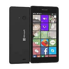 LIKE NEW BLACK MICROSOFT LUMIA 540 DUAL SIM 8 GB 6 MONTHS NOKIA INDIA WARRANTY!
