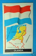 figurines stickers picture cards figurine bandiere del mondo 30 olanda folgore