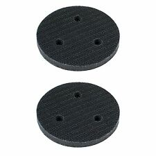 "TGR 2pc - 3"" - 3 Hole Vacuum Soft Interface Pad - Hook and Loop"