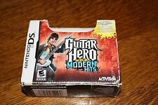 Nintendo DS Guitar Hero on Tour Modern Hits in original box Looks Unused Rated E
