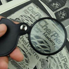 Mini Pocket 8 X Folding Jewelry Magnifier Magnifying Eye Glass Loupe Lens 50mm