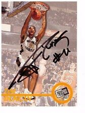 1997 TIM DUNCAN RC Press Pass Authentics AUTO ON-CARD Rookie AUTOGRAPH SPURS SP