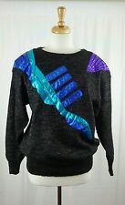 Vintage Carducci Embellished Sweater Sz L