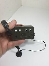 1/6 HASBRO TALKING PEARL HARBOR US RADIO WITH HEADPHONES AND MIC DRAGON BBI WW2