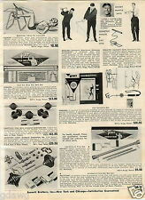 1965 PAPER AD Isometric Conditioner Mickey Mantle Gym Casco Sinusmask Voit Chin