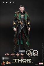 Hot Toys Loki 1/6 Scale Figure Thor The Dark World Tom Hiddleston Marvel New
