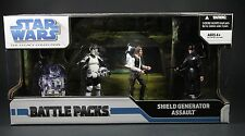 STAR WARS THE LEGACY COLLECTION BATTLE PACK SHIELD GENERATOR ASSAULT