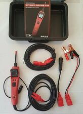 New Power Probe 3S Big Display Circuit Tester Kit w/Case & Accessories #PP3S01AS