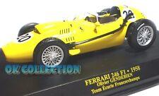 1:43 F1 - FERRARI 246 F1 (1958) - Olivier Gendebien (52)