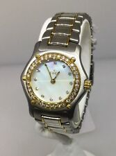 EBEL 1911 LADIES 18K GOLD AND SS MOP DIAMOND WATCH BNWT!! 75% DISCOUNT!!!!