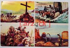 Album LONTANO WEST 1 DARDO 1962 - 4 figurine 15 16 17 18