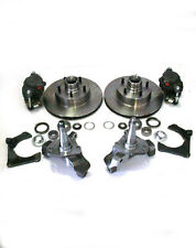 "Mustang II Big Disc Brake Kit + 2"" Drop Spindles & 11"" Rotors street rod dropped"