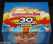 2015 GARBAGE PAIL KIDS 30TH ANNIVERSARY SEALED RETAIL BOX PLATE AUTO SKETCH 1ST