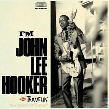 I'm John Lee Hooker + Travelin' - John Lee Hooker (2012, CD NEU)
