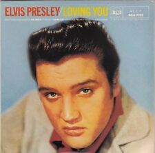 "ELVIS PRESLEY - Loving You  EP  7"" 45"
