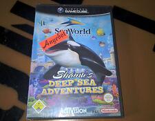 # saldati originale: Shamu 'S DEEP SEA ADVENTURES F. NINTENDO GAMECUBE/NEW #