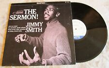 """JIMMY SMITH """"The Sermon"""" LP Stereo (12"""" 33 RPM Vinyl, Blue Note, 1984) BST 84011"""