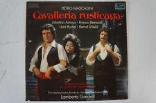 Mascagni Cavalleria rusticana Gesamtaufnahme Lamberto Gardelli Arroyo  (LP18)