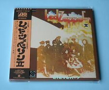 LED zeppelin II Japon MINI LP CD Brand New & still sealed