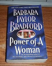 Power of a Woman by Barbara Taylor Bradford (1998, Paperback)