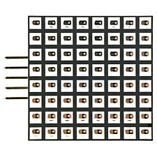 8X8 3mm 1.8in Display Dot Matrix Module Bright Red LED Board SPI For Arduino YG