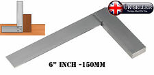"6"" inch 150mm STEEL TRY SQUARE PRECISION RIGHT ANGLE MEASURE Engineer's Squares"